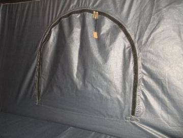 Hartschalen-Autodachzelt, GFK grau, Öffnung automatisch von Prime Tech - 9