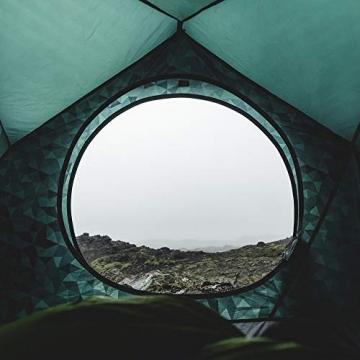 HEIMPLANET Original | THE CAVE 2-3 Personen Kuppelzelt | Aufblasbares Camping Zelt - In Sekunden errichtet | Wasserdichtes Außenzelt und Zeltboden - 5000mm Wassersäule | Keine Zeltstangen nötig | Unterstützt 1% For The Planet - 2