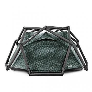HEIMPLANET Original | THE CAVE 2-3 Personen Kuppelzelt | Aufblasbares Camping Zelt - In Sekunden errichtet | Wasserdichtes Außenzelt und Zeltboden - 5000mm Wassersäule | Keine Zeltstangen nötig | Unterstützt 1% For The Planet - 1