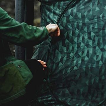 HEIMPLANET Original | THE CAVE 2-3 Personen Kuppelzelt | Aufblasbares Camping Zelt - In Sekunden errichtet | Wasserdichtes Außenzelt und Zeltboden - 5000mm Wassersäule | Keine Zeltstangen nötig | Unterstützt 1% For The Planet - 7