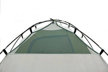 High Peak Kuppelzelt Nevada 4, Campingzelt mit Vorbau, Iglu-Zelt für 4 Personen, doppelwandig, 2.000 mm wasserdicht, Ventilationssystem, Wetterschutz-Eingang, Moskitoschutz - 6