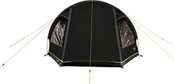 High Peak Tunnelzelt Atmos 3, Campingzelt mit Zeltboden, Trekkingzelt für 3 Personen, 2 Eingänge, doppelwandig, 4.000 mm wasserdicht, Ventilationssystem, Moskito- und Klarsicht-Fenster, windstabil - 8