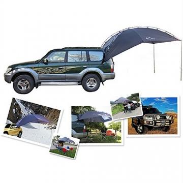 HUKOER Autokonto Outdoor Camping Camping Familie Auto Tail Konto Auto Seite Konto Zelte Heckklappe für das Auto, für Camping und Familie, Sommer Camping Zelt Schatten Zelt Auto Zelt 350 * 240 * 105 - 6