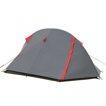 JUSTCAMP Fargo 1, 1-2 Mann Zelt, Tunnelzelt, Leicht (2700g), Kleines Packmaß, Campingzelt, Zelt für Festival, Trekkingtour - 5