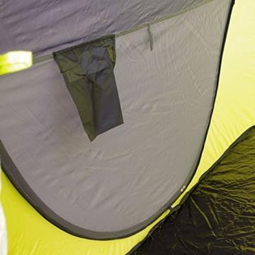 Lastpak Wurfzelt - Popup-Zelt - 245x145x95cm - 2 Personen - Strand, Camping, Festival Zelt - Wasserdicht und UV-schutz - Grün - Inkl. Tasche - 3