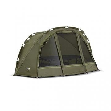 Lucx® Puma Angelzelt / 1 Man Bivvy / 1 Mann Karpfenzelt/Carp Dome/Fishing Tent/Zelt/Wassersäule 10.000 mm, Campingzelt - 2