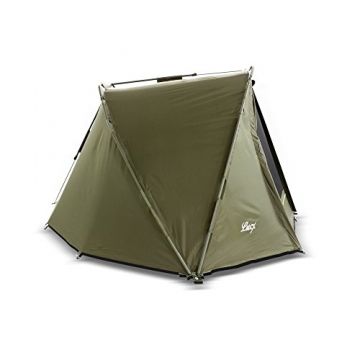 Lucx® Puma Angelzelt / 1 Man Bivvy / 1 Mann Karpfenzelt/Carp Dome/Fishing Tent/Zelt/Wassersäule 10.000 mm, Campingzelt - 3