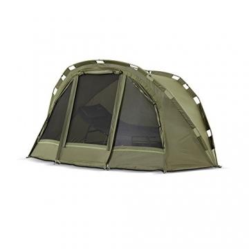 Lucx® Puma Angelzelt / 1 Man Bivvy / 1 Mann Karpfenzelt/Carp Dome/Fishing Tent/Zelt/Wassersäule 10.000 mm, Campingzelt - 4