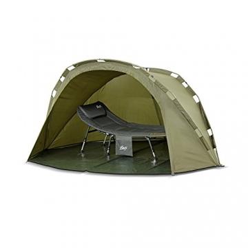 Lucx® Puma Angelzelt / 1 Man Bivvy / 1 Mann Karpfenzelt/Carp Dome/Fishing Tent/Zelt/Wassersäule 10.000 mm, Campingzelt - 5