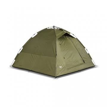 Lucx® Ruck Zuck Zelt/Angelzelt / 1-2 Man Bivvy / 1-2 Mann Karpfenzelt/Campingzelt/Sekundenzelt/Schnellaufbauzelt - 2
