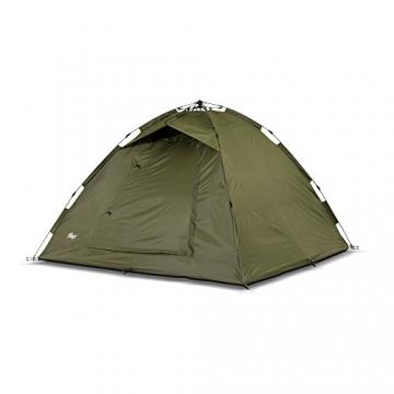 Lucx® Ruck Zuck Zelt/Angelzelt / 1-2 Man Bivvy / 1-2 Mann Karpfenzelt/Campingzelt/Sekundenzelt/Schnellaufbauzelt - 5