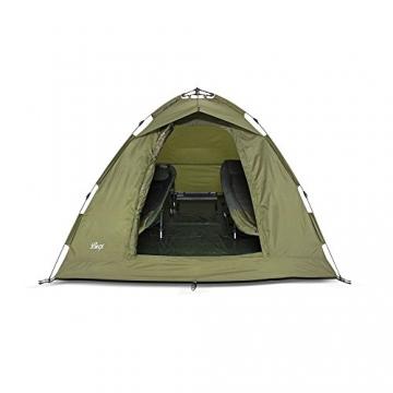 Lucx® Ruck Zuck Zelt/Angelzelt / 1-2 Man Bivvy / 1-2 Mann Karpfenzelt/Campingzelt/Sekundenzelt/Schnellaufbauzelt - 7