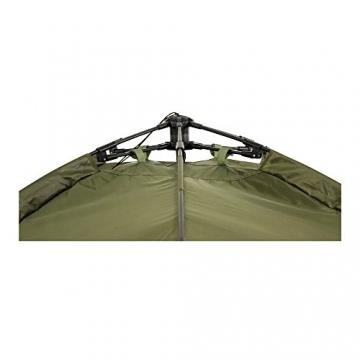 Lucx® Ruck Zuck Zelt/Angelzelt / 1-2 Man Bivvy / 1-2 Mann Karpfenzelt/Campingzelt/Sekundenzelt/Schnellaufbauzelt - 8