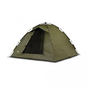 Lucx® Ruck Zuck Zelt/Angelzelt / 1-2 Man Bivvy / 1-2 Mann Karpfenzelt/Campingzelt/Sekundenzelt/Schnellaufbauzelt - 9