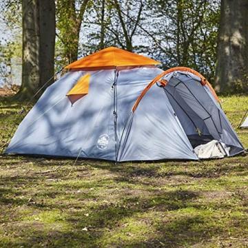 Lumaland Where Tomorrow Pop Up Familienzelt 3 Personen Zelt 220x220x130 Grün - 4
