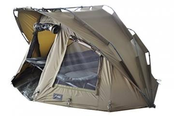 MK-Angelsport Fort Knox 2 Personen Zelt Karpfenzelt Angelzelt komplettes Set incl. Gummihammer Dome Bivvy - 6