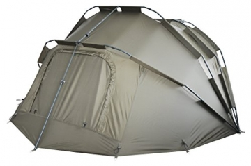 MK-Angelsport Fort Knox 2 Personen Zelt Karpfenzelt Angelzelt komplettes Set incl. Gummihammer Dome Bivvy - 7