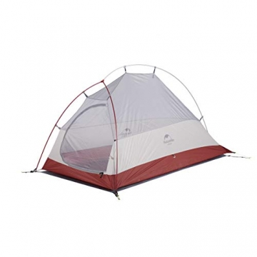 Naturehike Cloud-up Ultraleichte 1 Personen Single Zelt 3-4 Saison Camping Zelt (20D Grau Upgrade) - 4