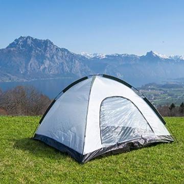 outdoorer Festivalzelt Festival Camp - als 2-3 Personen-Zelt wasserdicht und doppelwandig, ideales Campingzelt - 3