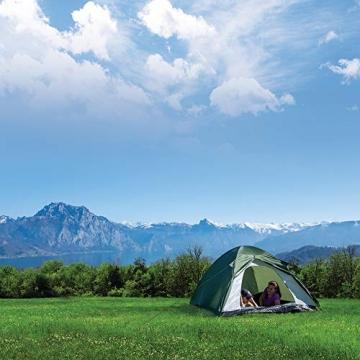 outdoorer Festivalzelt Festival Camp - als 2-3 Personen-Zelt wasserdicht und doppelwandig, ideales Campingzelt - 4