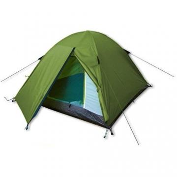 outdoorer Festivalzelt Festival Camp - als 2-3 Personen-Zelt wasserdicht und doppelwandig, ideales Campingzelt - 1