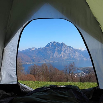 outdoorer Festivalzelt Festival Camp - als 2-3 Personen-Zelt wasserdicht und doppelwandig, ideales Campingzelt - 5