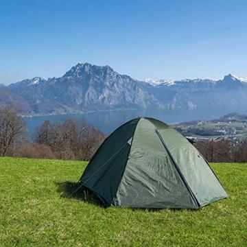 outdoorer Festivalzelt Festival Camp - als 2-3 Personen-Zelt wasserdicht und doppelwandig, ideales Campingzelt - 6