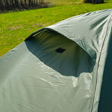 outdoorer Festivalzelt Festival Camp - als 2-3 Personen-Zelt wasserdicht und doppelwandig, ideales Campingzelt - 8