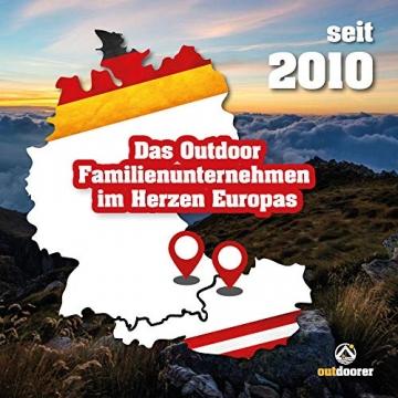 outdoorer Trekkingzelt für 1-2 Personen Trek It Easy 2, leichtes Schnellaufbau-Zelt, kleines Packmaß - 6