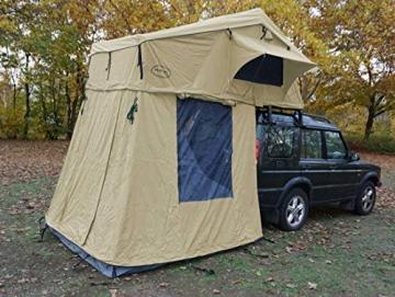 Prime Tech Autodachzelt EXTENDED 320x140x130 cm in beige - 2