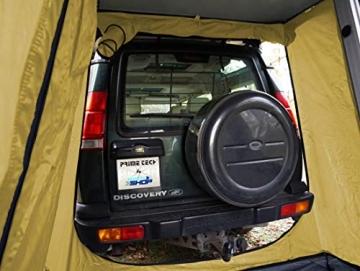 Prime Tech Autodachzelt EXTENDED 320x140x130 cm in beige - 6