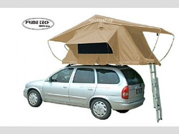Prime Tech Autodachzelt Wasteland, beige - 240x140x130cm - 1