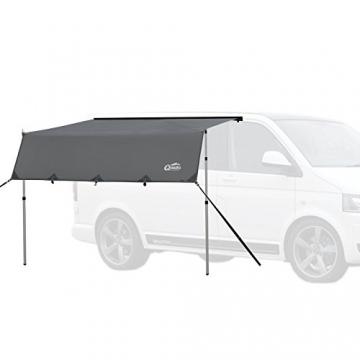 Qeedo Motor Tarp, Campingbus Sonnensegel, Camper, Wohnwagen, Sonnenschutz Campingmobil, Einfache Montage - 3