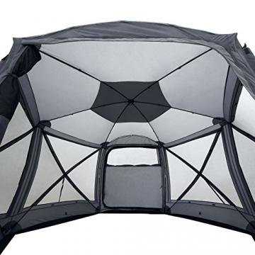 Qeedo Quick Hub 20 Pop Up Pavillon (380 x 380 cm), Pavillon Camping, Event Shelter & Vorzelt wasserdicht - 10