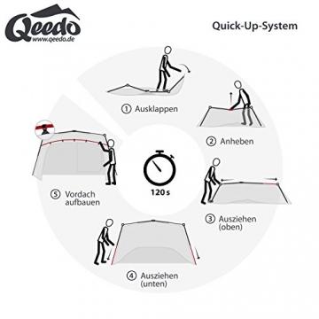 Qeedo Quick Villa 5, Sekundenzelt für 5 Personen, Familienzelt mit Stehhöhe - 3