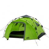 Qeedo Sekundenzelt Quick Pine 3, Campingzelt - grün - 1