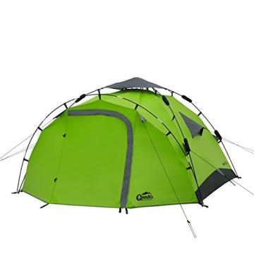 Qeedo Sekundenzelt Quick Pine 3, Campingzelt - grün - 3