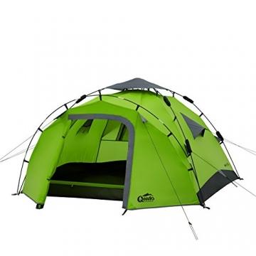 Qeedo Sekundenzelt Quick Pine 3, Campingzelt - grün - 5