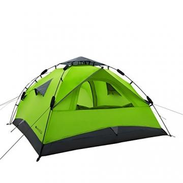 Qeedo Sekundenzelt Quick Pine 3, Campingzelt - grün - 9