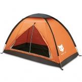 Ruckzuck Zelt 1 Personen Mann Wasserdicht Zelt Leicht Camping Atmungsaktiv Einfache Einrichtungs für Outdoor Wandern Doppelschicht - 1