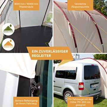 Skandika Camper Tramp Bus-Vorzelt, freistehend mit Schlafkabine für 2 Personen, 210cm Stehhöhe - 2