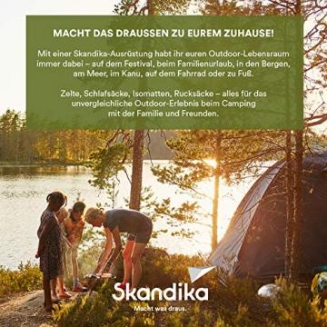 Skandika Camper Tramp Bus-Vorzelt, freistehend mit Schlafkabine für 2 Personen, 210cm Stehhöhe - 8