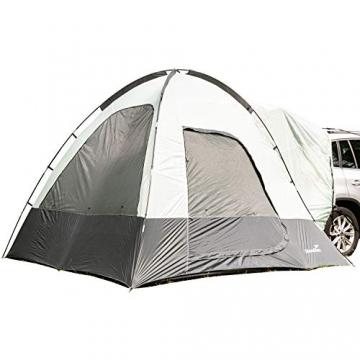 skandika Pitea SUV Zelt für 4 Personen, Fahrzeug/Auto Vorzelt, freistehend 300x300cm mit 220cm Höhe & eingenähtem Zeltboden - 1
