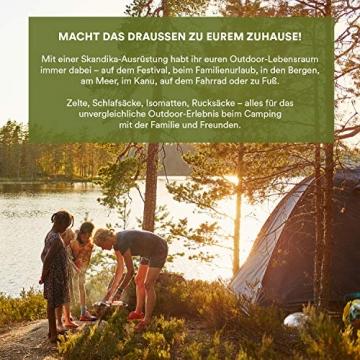 skandika Pitea SUV Zelt für 4 Personen, Fahrzeug/Auto Vorzelt, freistehend 300x300cm mit 220cm Höhe & eingenähtem Zeltboden - 3