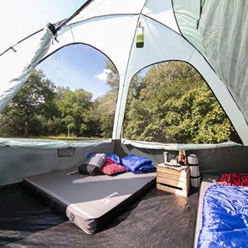 skandika Pitea SUV Zelt für 4 Personen, Fahrzeug/Auto Vorzelt, freistehend 300x300cm mit 220cm Höhe & eingenähtem Zeltboden - 5