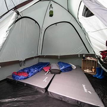 skandika Pitea SUV Zelt für 4 Personen, Fahrzeug/Auto Vorzelt, freistehend 300x300cm mit 220cm Höhe & eingenähtem Zeltboden - 6