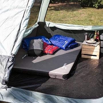 skandika Pitea SUV Zelt für 4 Personen, Fahrzeug/Auto Vorzelt, freistehend 300x300cm mit 220cm Höhe & eingenähtem Zeltboden - 8