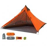 """Ultraleichtes """"Naturehike""""-Pyramidenzelt für 3Jahreszeiten, zum Camping, Wandern und Bergsteigen, the tent set - 1"""