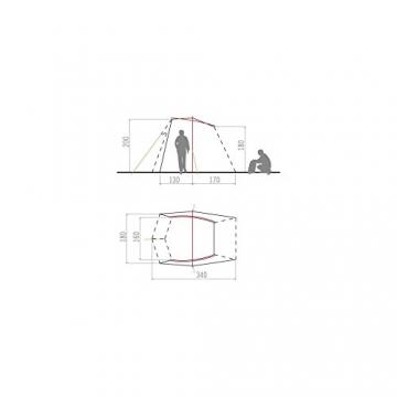 VAUDE Fahrzeug-zelt Drive Wing, linen, One size, 120077810 - 3