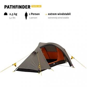Wechsel Tents Kuppelzelt Pathfinder - Travel Line - 1-Personen Geodät Zelt - 2
